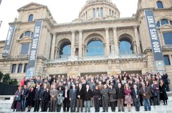 El conseller Tresserras amb els directors de museus de Catalunya