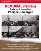 'Memorial Retirada' InstalIlació fotogràfica de Philippe Domergue