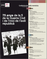 75 anys de la fi de la guerra i de l'inici de l'exili republicà