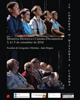 IV Congrés Internacional d'Història i Cinema: Memòria històrica i cinema documental