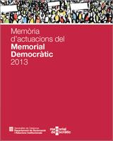 Memoria Memorial Democràtic 2013