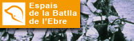 Espais de la Batalla de l'Ebre