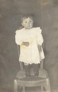 Joana Raspall Juanola 1914. Imatge cedida per la família