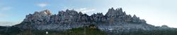 Montserrat nevat cara Nord